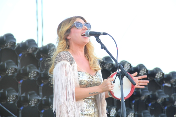 Photo Gallery: Lucie Silvas Performing At Stagecoach 2016
