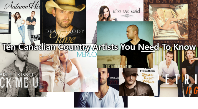 10 Canadian Country Artists You Need to Know – Listen