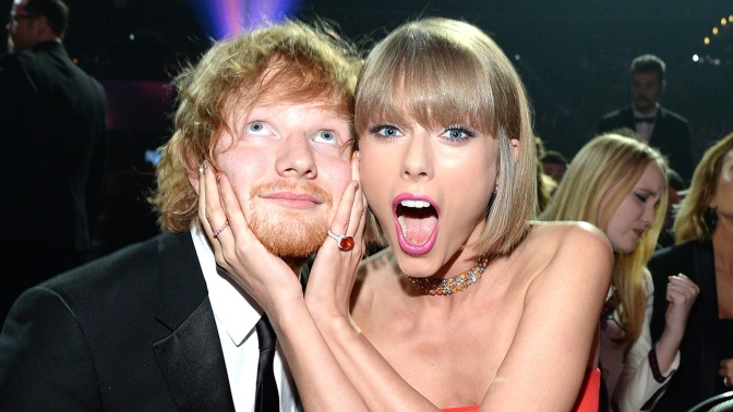Ed Sheeran Says Taylor Swift Will Probably Release an Album in Time For Christmas!