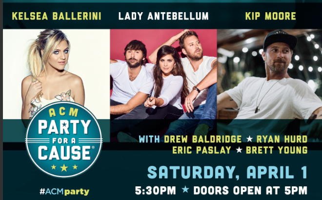 ACM PARTY FOR A CAUSE®: THE JOINT Adds More Talent and Radio Awards Presented by Kelsea Ballerini!